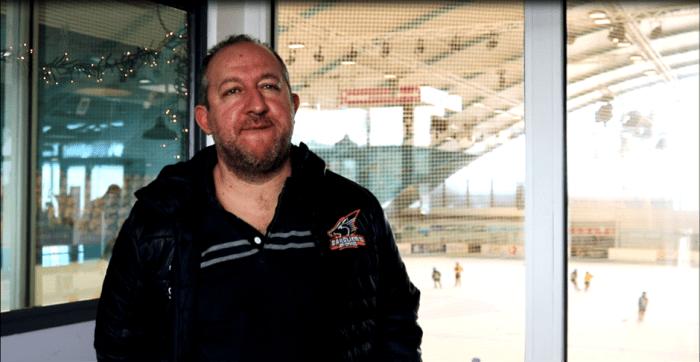 Eric Sarliève le coach des Sangliers Arvernes. Photo : Adrien Michaud
