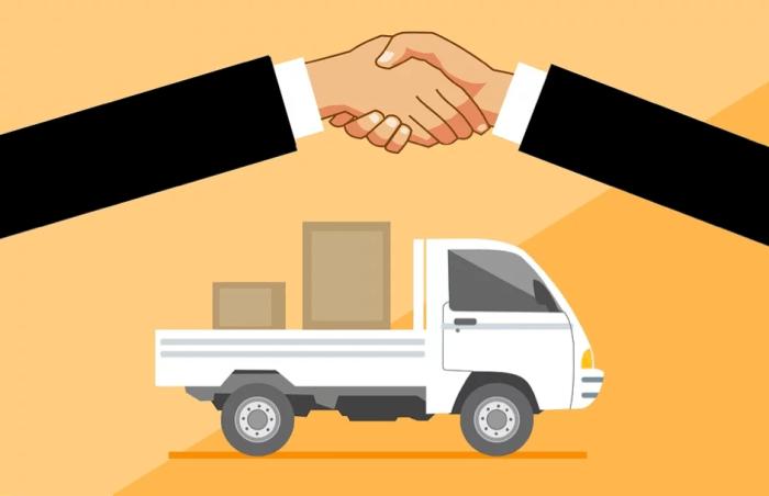 La livraison est devenue un élément central pour s'adapter au confinement. Image : Pixabay