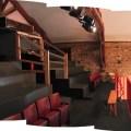 La salle de la Baie des singes, à Cournon-d'Auvergne. Crédit : Baie des singes
