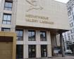 La nouvelle façade de la médiathèque Valery Larbaud, place de la Victoire, le 3 décembre 2020. Photo : Clément Gazarian