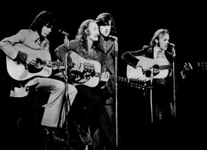 Crosby, Stills, Nash & Young i 1970 (Foto: Wikiemdia Commons)