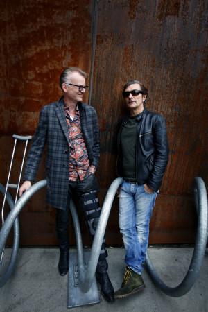Sindre Kartvedt (t.v.) og Kjartan Kristiansen. (Foto: Kristin Svorte)