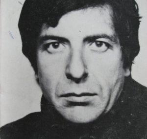 Leonard Cohens første norgeskonsert ble stoppet av bombetrussel. (Foto: platecover, utsnitt)