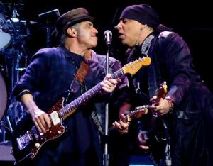 Lofgren og van Zandt ville heller spille med Bruce enn spise lunsj med Leffe. (Foto: Pollstar.com)