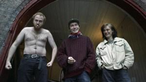 Jokke & Valentinerne viser muskler på albumet «Frelst». (Foto: NRK)