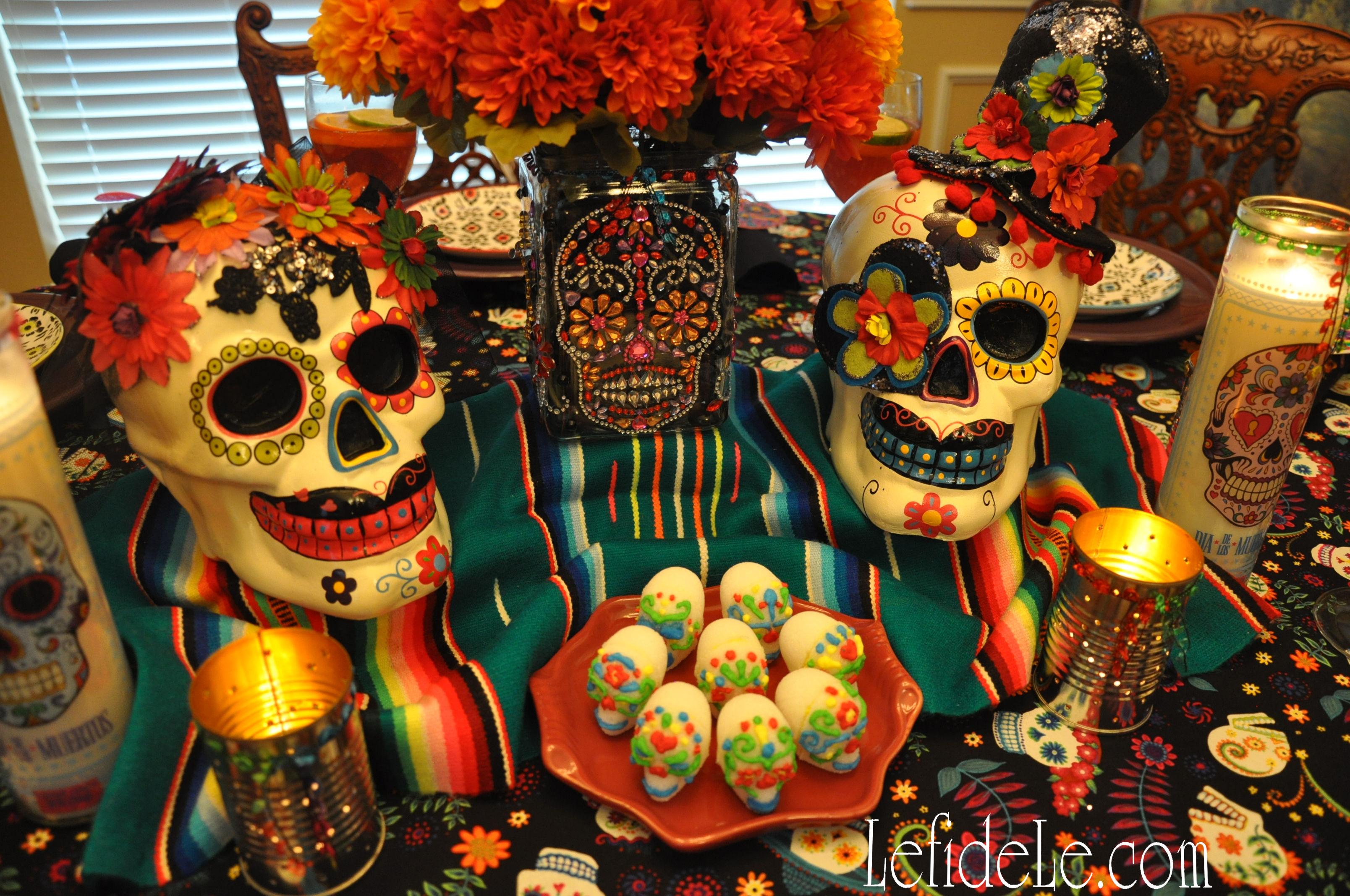calaveras de azucar sugar skulls edible folk art egg free vegan