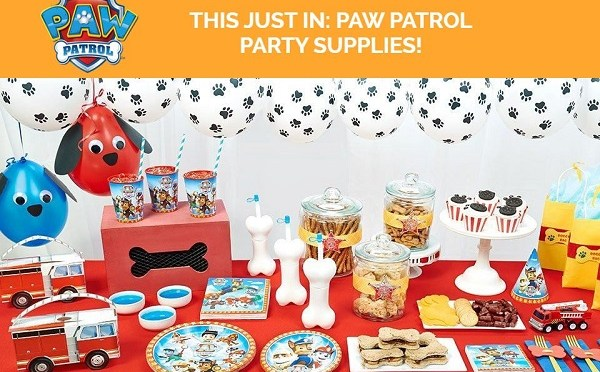 Get your Paw Patrol Party On With Birthday Express!