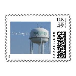 LefideLe.com Prosper Texas Stamp