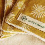 Cotons démaquillants lavables peaux sensibles de Noel (7)