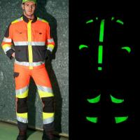 Des textiles photoluminescents comme des vers luisants