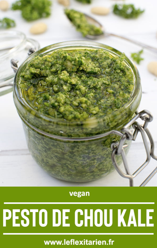 Pesto de chou kale [vegan] 2020 © Annabelle Randles Le Flexitarien