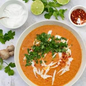 Soupe thaïlandaise aux lentilles corail [vegan]