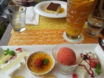 Goûter pris au L'Occitane Café à Tokyo