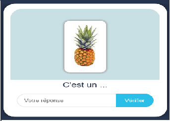 Test flashcards – Vidéo 10 – ananas et fraises