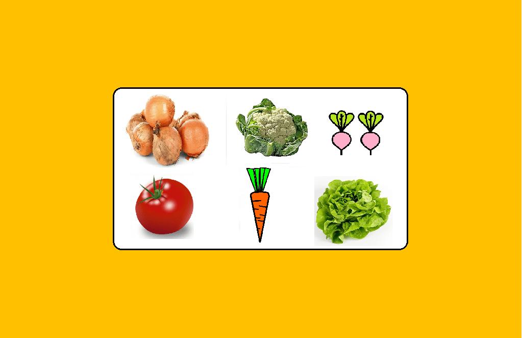 Memory Les légumes