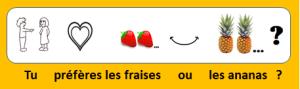 Xavier et Louise aiment les fruits
