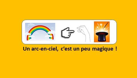 Les couleurs de l'arc-en-ciel – vidéo 134