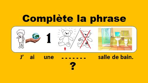 Compléter les phrases – vidéo 144