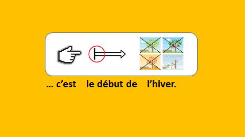 apprendre le français avec le français illustré - l'hiver