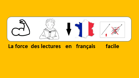 la force des lectures en français facile
