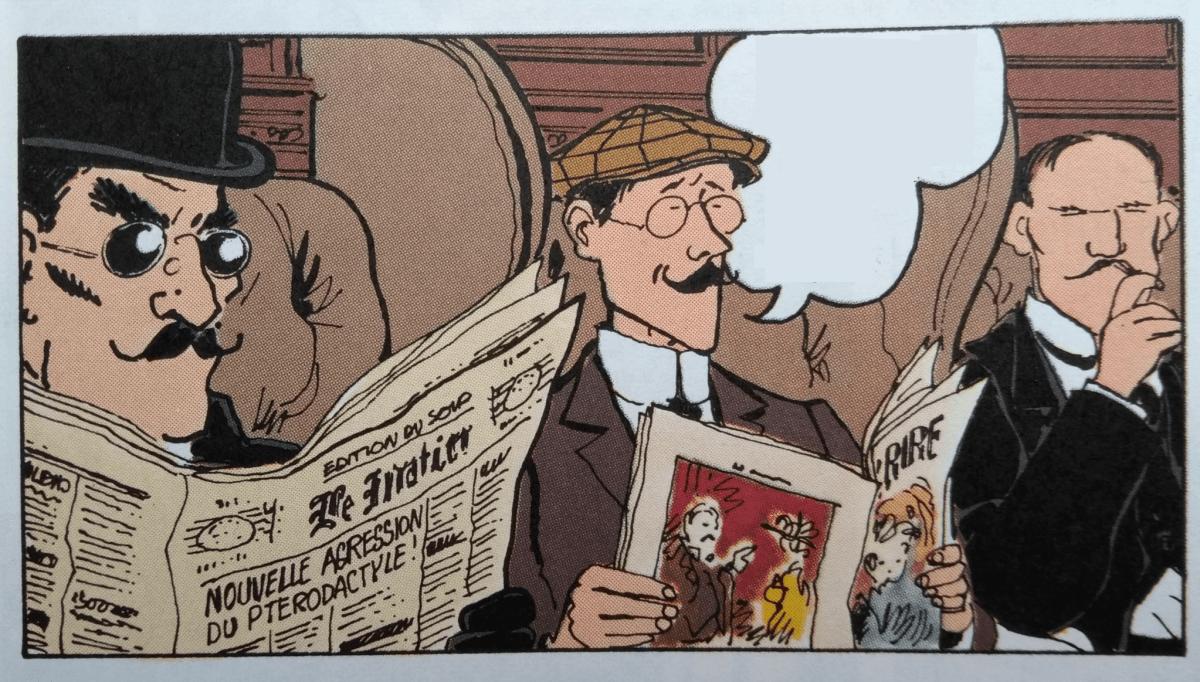 Tardi - Adèle et la bête - dessin 1 - sans texte