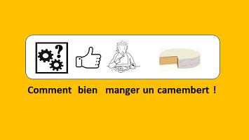 Comment manger un camembert – vidéo 169