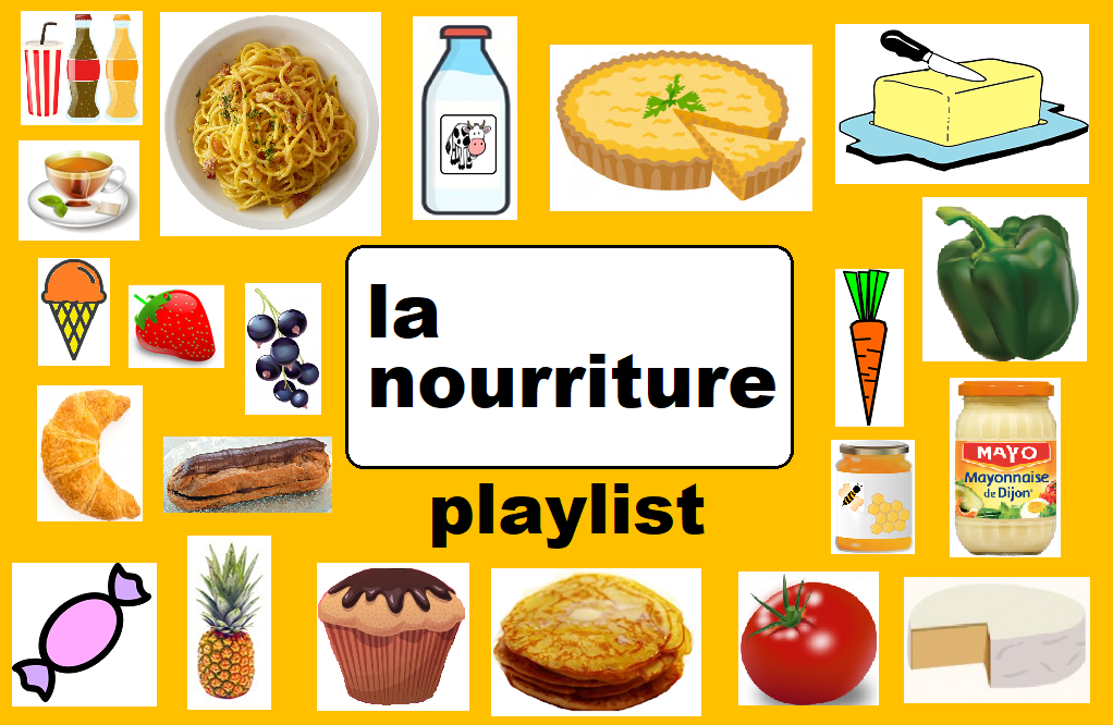 Playlist La nourriture