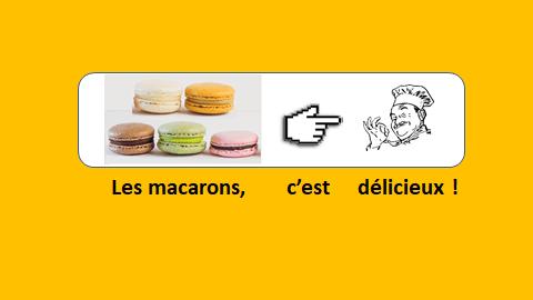 Les macarons – vidéo 186