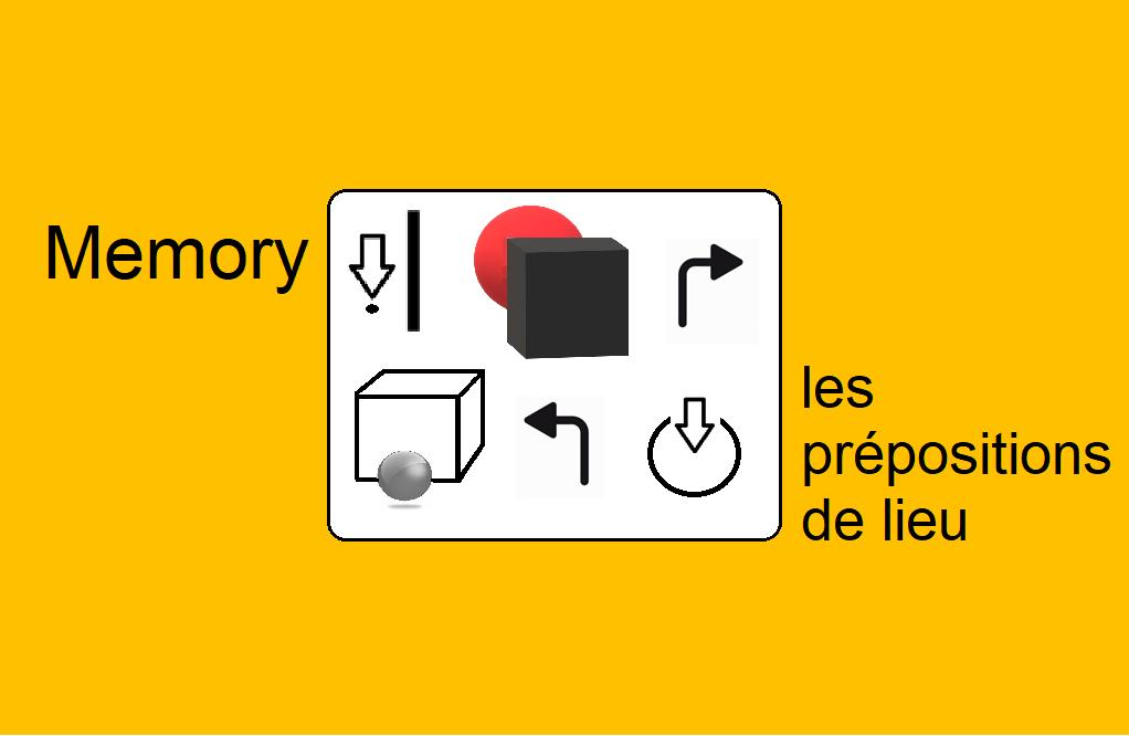 Memory Les prépositions de lieu