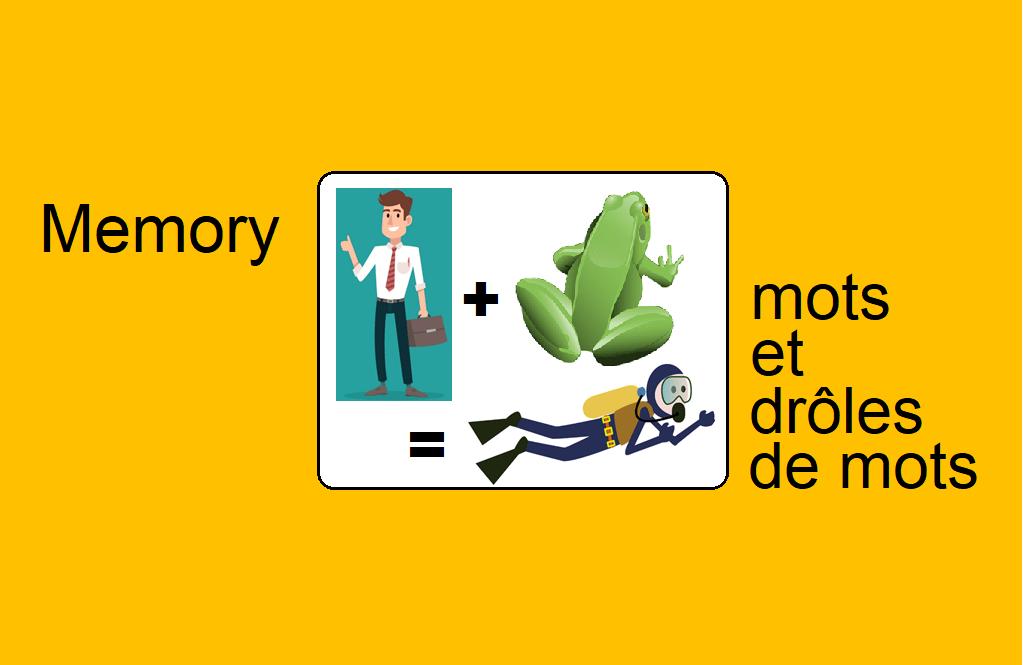Memory – mots et drôles de mots