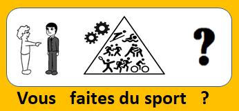 Vous faites du sport ?