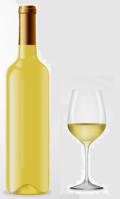 du vin blanc