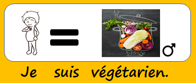 Je suis végétarien.