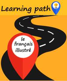 learning path to learn French with the Français illustré