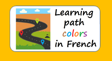 learning path colors in French