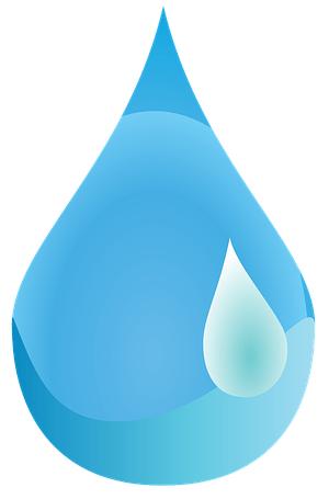 une goutte d'eau