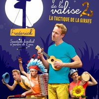 Spectacle jeune public « La Symphonie de la Valise 2 : La Tactique de la Girafe »
