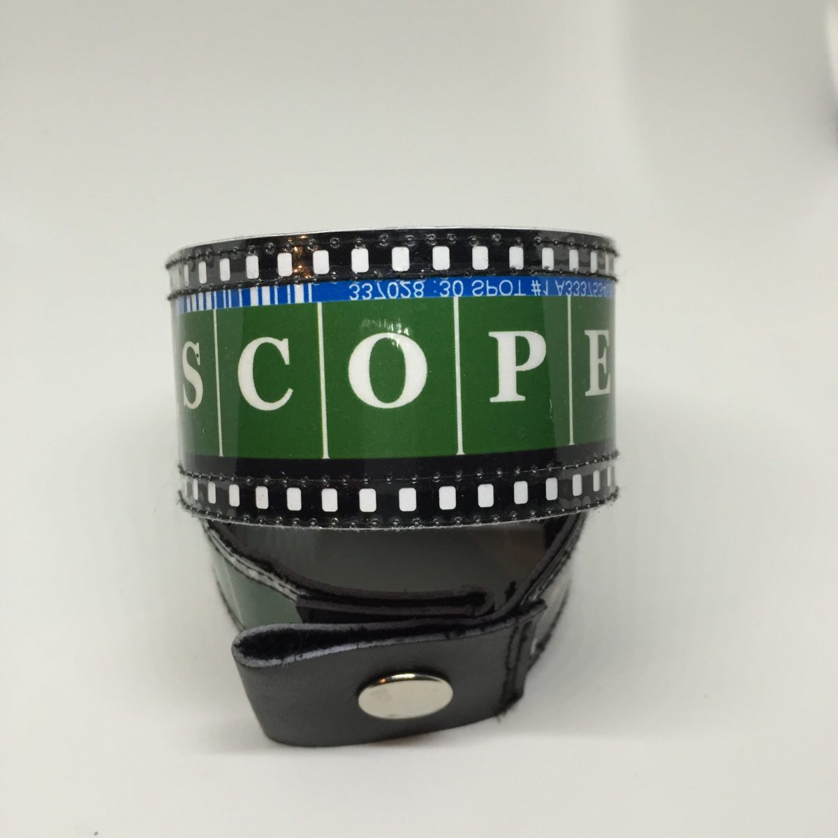 Green Scope Bracelet Flat $25