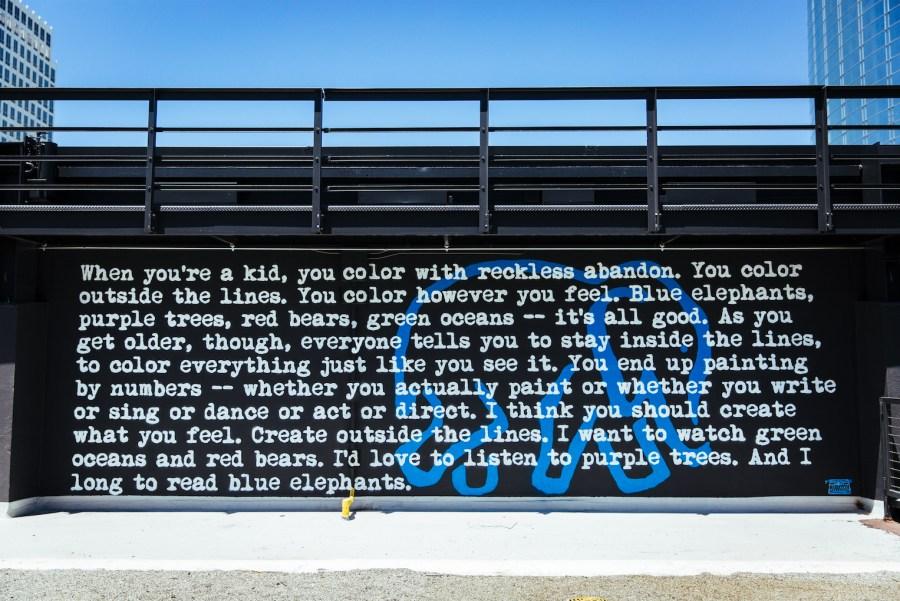Blue Elephants by Steffi Victorioso
