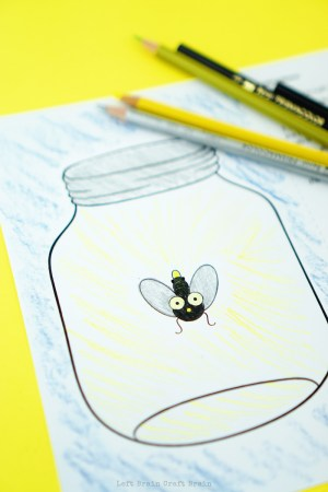 How to Make a Lightning Bug Paper Circuit Card  Left Brain Craft Brain