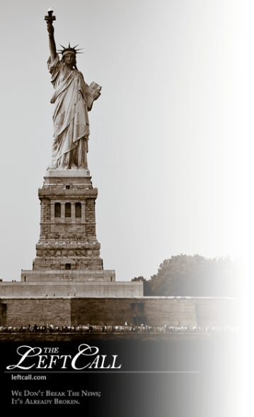 Left Call - liberty vertical logo