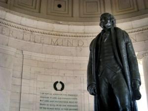 Thomas Jefferson - photo by David Cosand