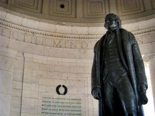 Thomas Jefferson - photo by David Cosand