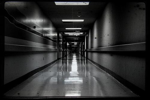 Hospital Hallway - photo by Mike