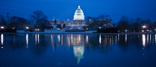 Capitol Building by Night - photo by Marius Strom