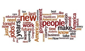 State of the Union 2012 - top words - by Shreve Garrott