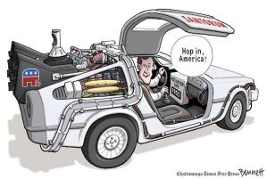 Back to the Future - Clay Bennett, Chattanooga Times