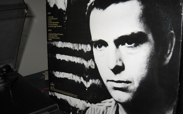 Peter Gabriel - photo by Charlie & Kasie Bennett