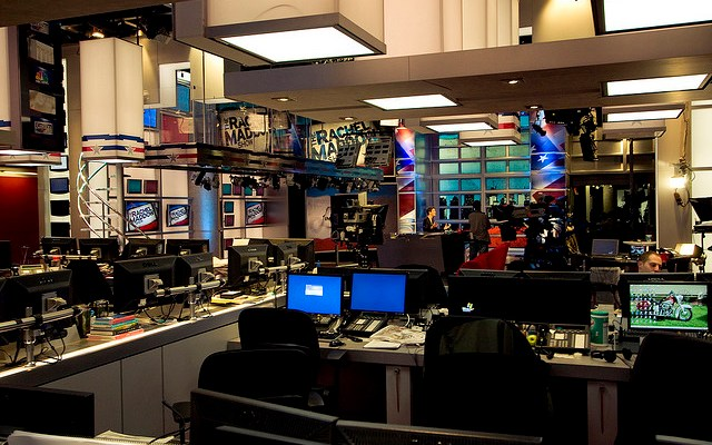 The set in context - The Rachel Maddow Show - photo by The Rachel Maddow Show
