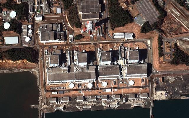Earthquake and Tsunami damage-Fukushima Dai-Ni, Japan - March 12, 2011 - photo by DigitalGlobe